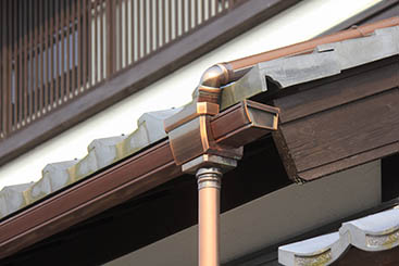 雨樋の改修工事
